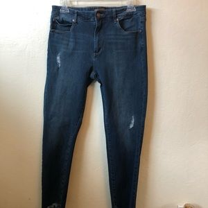 Hardly worn Leith Jeans with split ankle hem